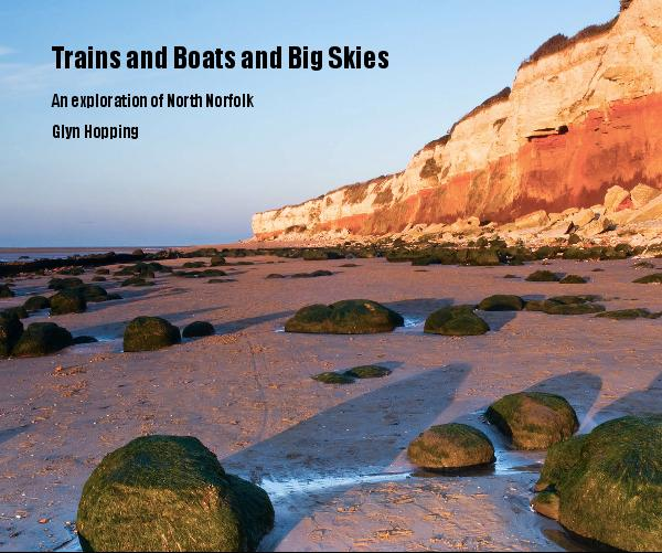View Trains and Boats and Big Skies by Glyn Hopping