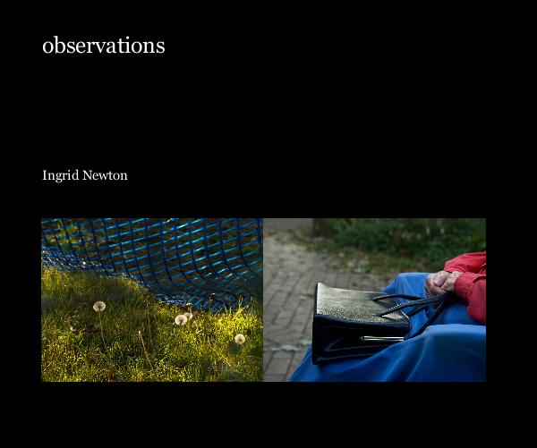 Click to preview observations photo book