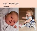 Lucy - the First Year - Children photo book